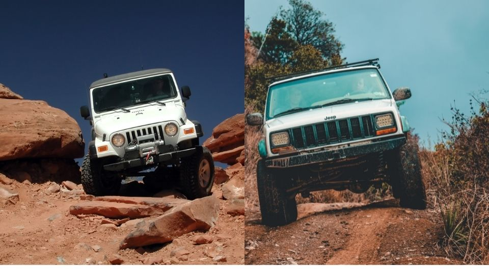 comparison between xj and tj